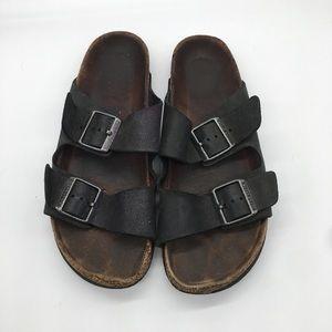 Birkenstock Slip On Sandals Two Straps